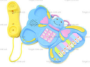Музыкальный телефон для детей «Бабочка», 2014, фото