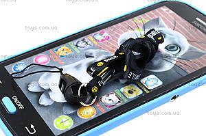 Музыкальный телефон для детей «Кот Том», JD-101A, фото