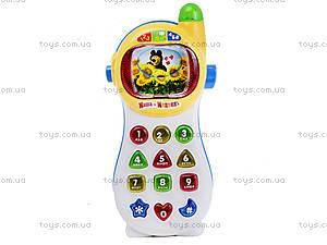 Музыкальный телефон «Маша и Медведь», на украинском, MM-701-U, цена