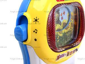 Музыкальный телефон «Маша и Медведь», на украинском, MM-701-U, игрушки