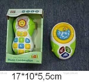 Музыкальный телефон, со световыми эффектами, WD3641/42