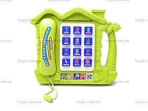 Музыкальный телефон «Веселые звонки», 9092AR, фото