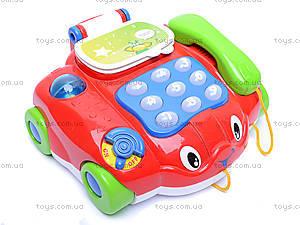 Музыкальный телефончик на колесах, 7068