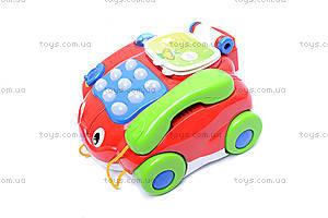 Музыкальный телефончик на колесах, 7068, купить