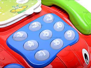 Музыкальный телефончик на колесах, 7068, фото