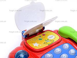 Музыкальный телефончик на колесах, 7068, цена