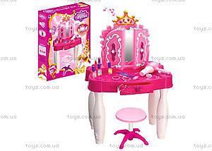 Музыкальный туалетный столик со стулом для детей, 661-21DR