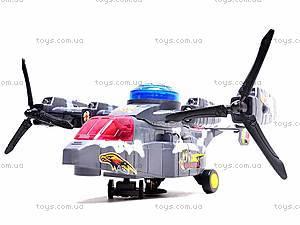 Музыкальный вертолет «Бомбардировщик», 9312, детские игрушки