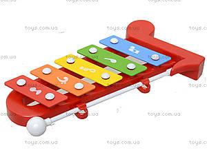 Музыкальный инструмен для настроения, ксилофон, 5200-29, магазин игрушек