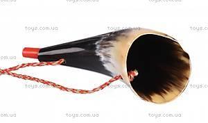 Музыкальный инструмент goki «Рог викинга» средний, 15231G-3, купить