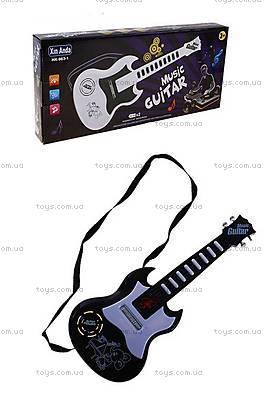 Музыкальный инструмент «Рок гитара» , HK-963-1