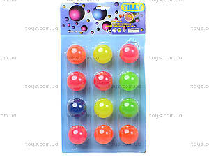Набор неоновых мячей попрыгунчиков, BT-JB-0010