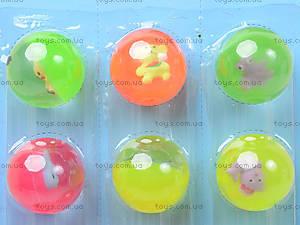 Набор мячей-попрыгунчиков с животным, BT-JB-0015, купить