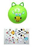 Мяч резиновый с рожками, BT-PB-0080, фото