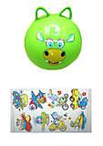 Резиновый мяч с ушками, BT-PB-0081, отзывы