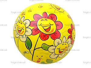 Детский мяч для игры с рисунком, BT-PB-0017, детские игрушки