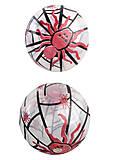 """Мяч 9 дюймов, прозрачный """"Пауки"""", в ассортименте, BT-PB-0108"""