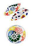Мяч надувной с цветными узорами, BT-PB-0112, купить