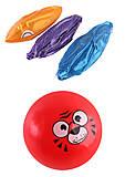"""Мяч 23 см """"Мордочки"""" 3 рисунка 3 цвета, BT-PB-0157, отзывы"""