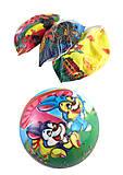 """Мяч 23см """"Рисунки"""" (4 вида), BT-PB-0169, игрушка"""