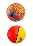 Мяч баскетбольный «Тачки» 23 см, 25651-129, фото