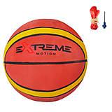 Мяч баскетбольный №7, резина, 600 грамм (BB2117), BB2117, опт