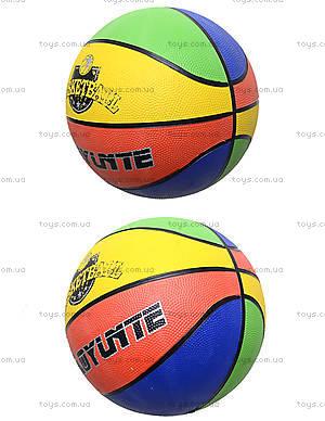 Мяч баскетбольный резиновый, BT-BTB-0003