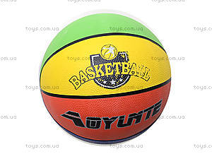 Мяч баскетбольный резиновый, BT-BTB-0003, игрушки