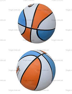 Мяч для игры в баскетбол, резиновый, BT-BTB-0013
