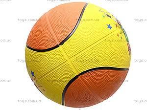 Мяч баскетбольный детский «Ну погоди!», 25651-113, фото