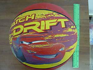 Мяч баскетбольный детский «Тачки», 25651-128