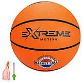 Мяч баскетбольный M42409 №5, оранжевый, M42409, опт