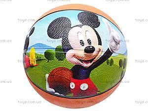 Мяч баскетбольный «Мики Маус», 25651-124
