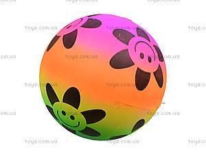 Мяч детский цветной с рисунком, 3116, магазин игрушек