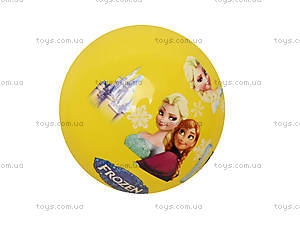 Детский мячик с рисунком, цветной, 3118, магазин игрушек
