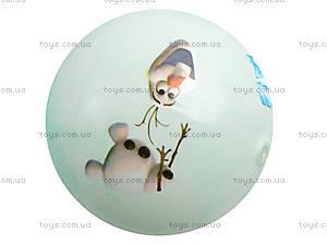 Детский мячик с рисунком, цветной, 3118, toys