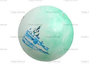 Детский мячик с рисунком, цветной, 3118, іграшки