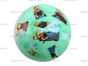 Детский мячик с рисунком, цветной, 3118, детский