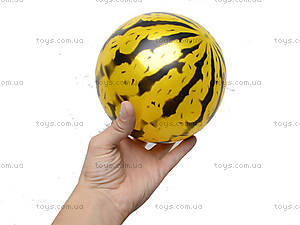 Мяч детский, цветной арбуз, 466-507, фото