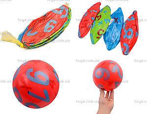 Мяч детский резиновый, 4 цвета, 772-413
