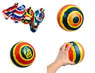 Легкий резиновый мячик, разные цвета, 772-420