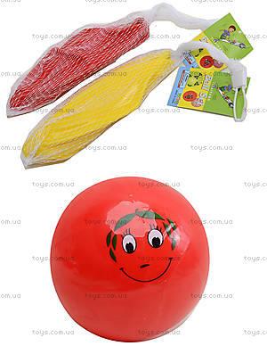 Мяч детский с рисунком «Улыбка», PD06A