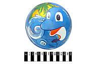 Мяч детский с рисунком дельфина, YT6011, фото