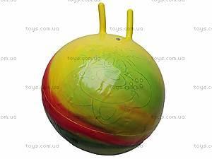 Мяч для фитнеса с рожками «Радуга», Польша