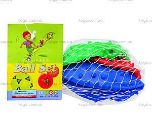 Детский мяч-ежик 3 в 1, MA3-3, игрушки