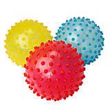 Мяч ежик прозрачный, 4 цвета, BT-PB-0094, отзывы