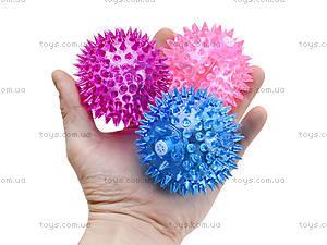 Мяч-ежик со световыми эффектами, 12 штук, 33388R, детские игрушки