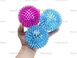 Детский мяч-ежик со световыми эффектами, 33888S, купить
