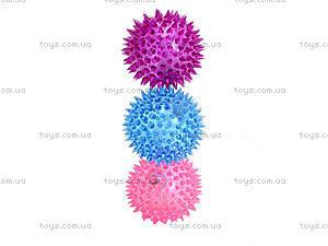 Детский мяч-ежик со световыми эффектами, 33888S, фото