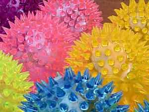 Детский мяч-ежик со световыми эффектами, 33888S, магазин игрушек